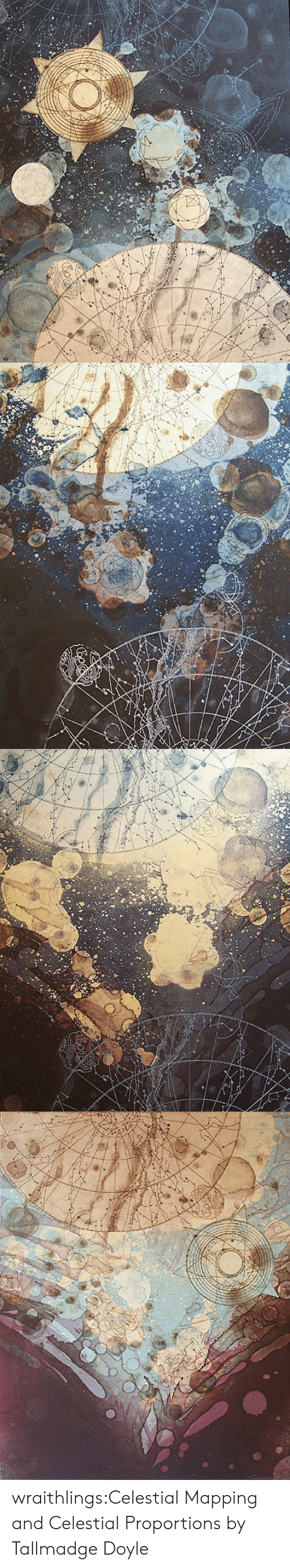 celestial: wraithlings:Celestial Mapping and Celestial Proportions by Tallmadge Doyle