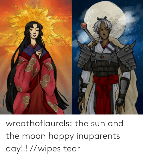 wipes tear: wreathoflaurels:  the sun and the moon happy inuparents day!!! //wipes tear