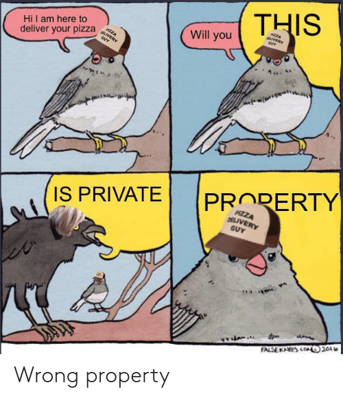 wrong: Wrong property