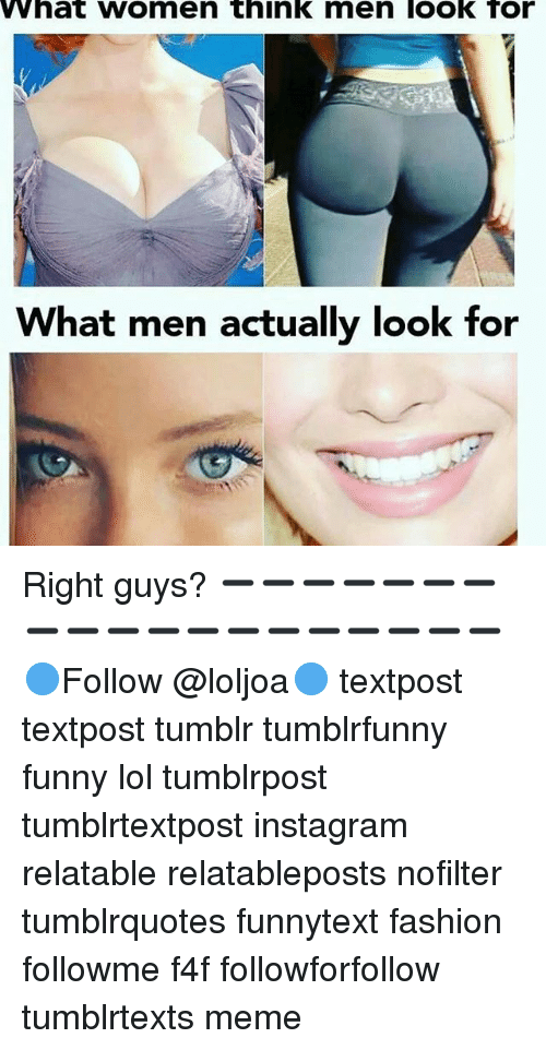 What do women look for in a guy