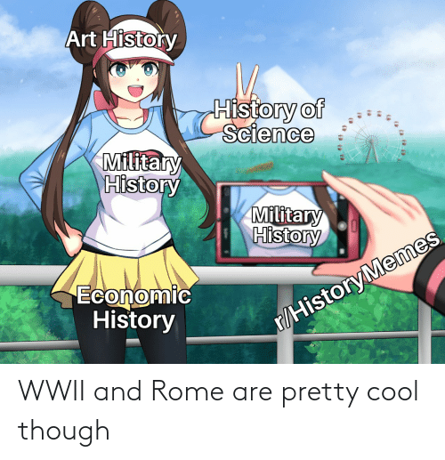 wwii: WWII and Rome are pretty cool though