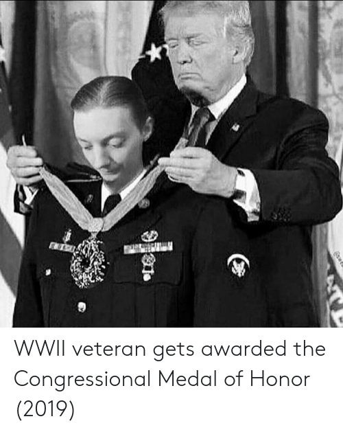 medal of honor: WWII veteran gets awarded the Congressional Medal of Honor (2019)