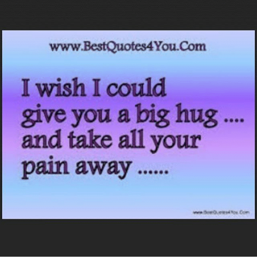 Wwwbestquotes4youcom I Wish I Could Give You A Big Hug And Take All