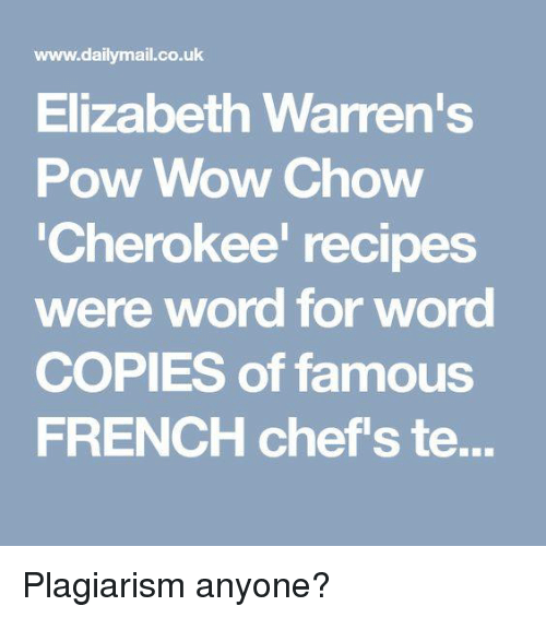 wwwdailymailcouk elizabeth warren 39 s pow wow chow cherokee recipes were word for word copies of. Black Bedroom Furniture Sets. Home Design Ideas