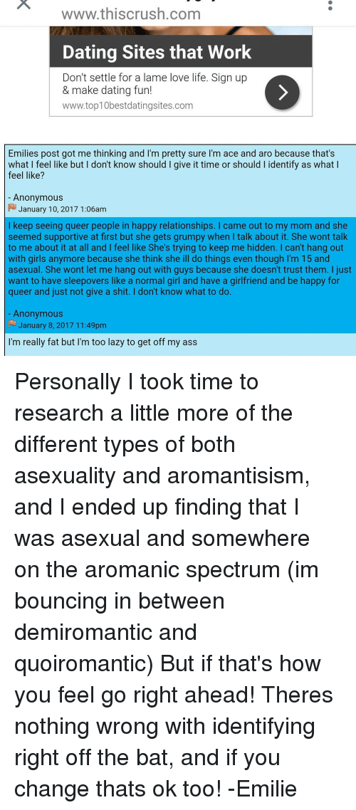 Free asexual dating websites
