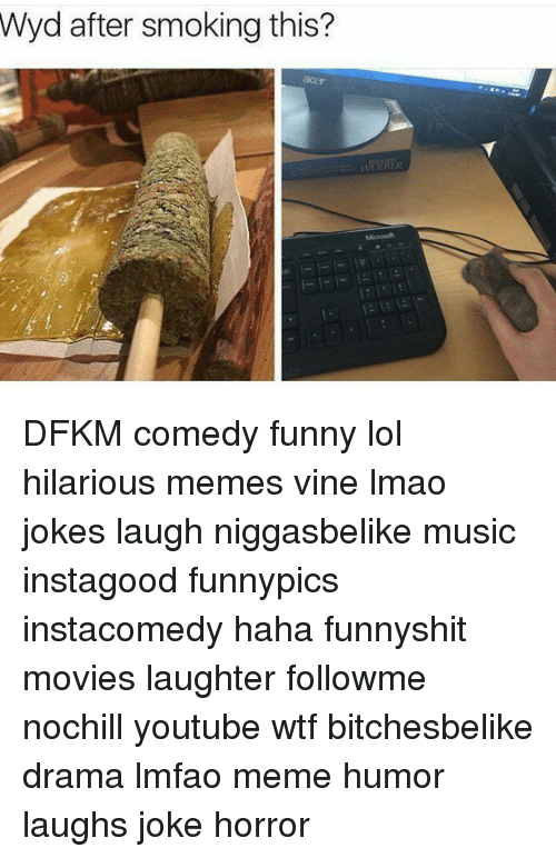 Memes, Microsoft, and Wyd: Wyd after smoking this?  Microsoft DFKM comedy funny lol hilarious memes vine lmao jokes laugh niggasbelike music instagood funnypics instacomedy haha funnyshit movies laughter followme nochill youtube wtf bitchesbelike drama lmfao meme humor laughs joke horror