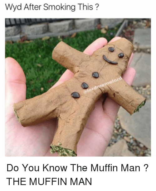 Memes, Wyd, and 🤖: Wyd After Smoking This  or Do You Know The Muffin Man ? THE MUFFIN MAN