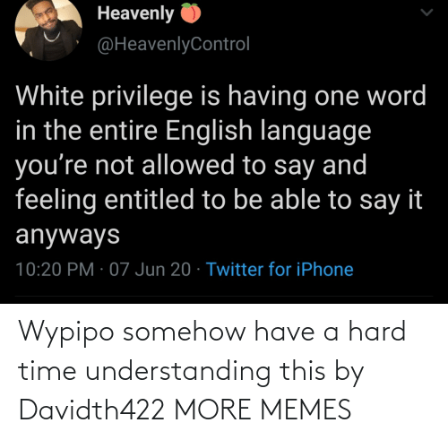 Have A: Wypipo somehow have a hard time understanding this by Davidth422 MORE MEMES