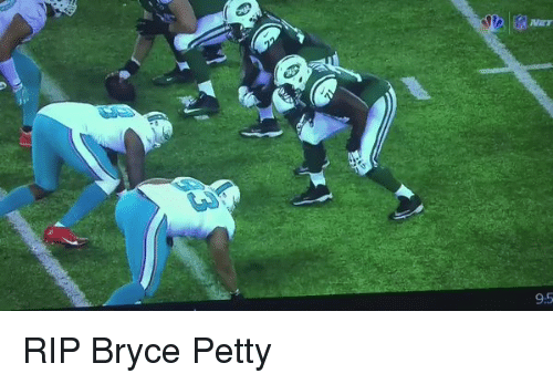 Football, Nfl, and Sports: x(NET  95 RIP Bryce Petty