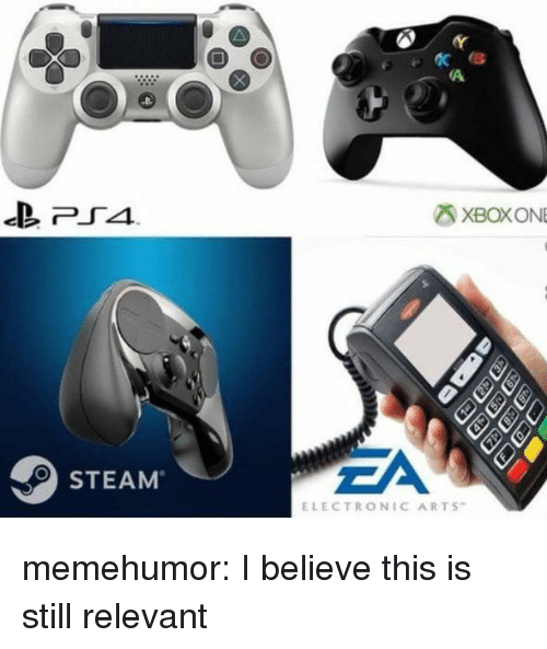 Electronic Arts: XBOXONE  EA  STEAM  ELECTRONIC ARTS memehumor:  I believe this is still relevant