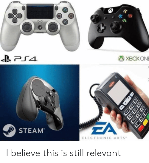 Electronic Arts: XBOXONE  ZA  STEAM  ELECTRONIC ARTS I believe this is still relevant