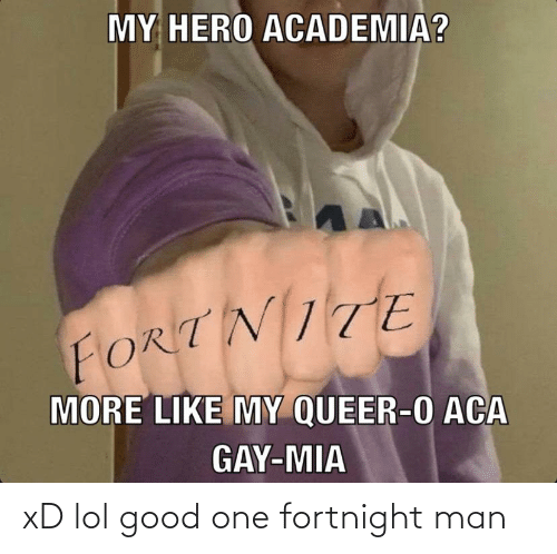 Xd Lol: xD lol good one fortnight man