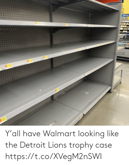 Detroit Lions: Y'all have Walmart looking like the Detroit Lions trophy case https://t.co/XVegM2nSWI