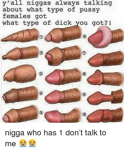 Pussy, Dick, and Dank Memes: y all niggas always talking  about what type of pussy  females got  what type of dick you got?! nigga who has 1 don't talk to me 😭😭