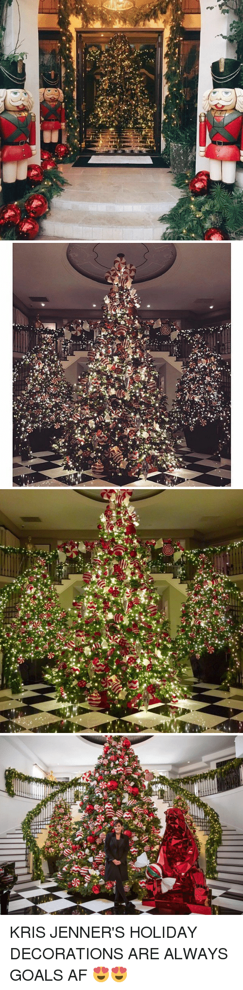 Kris Jenner, Xxx, and Decoration: y;  v:  r  7   --(A 앙  券/  e-str?  of  d  4yC..*   NO  等,   IUU  泰.  84 KRIS JENNER'S HOLIDAY DECORATIONS ARE ALWAYS GOALS AF 😍😍