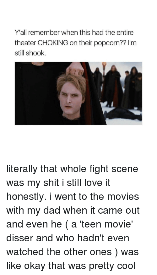 fight scenes: Y'all remember when this had the entire  theater CHOKING on their popcorn?? l'm  still shook literally that whole fight scene was my shit i still love it honestly. i went to the movies with my dad when it came out and even he ( a 'teen movie' disser and who hadn't even watched the other ones ) was like okay that was pretty cool