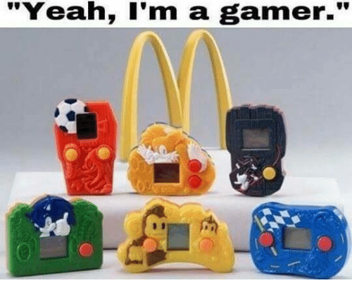 "Funny, Yeah, and Gamer: ""Yeah, I'm a gamer."""