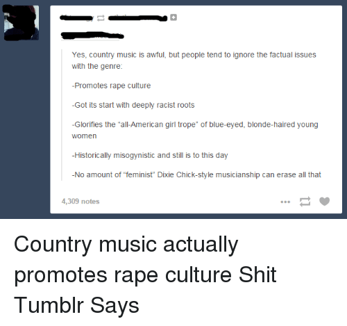 yes country music is a but people tend to ignore 1636190 🔥 25 best memes about country music and tumblr country music