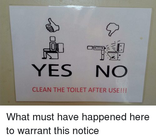 Image: Https://pics.onsizzle.com/yes-no-clean-the-toilet-after-use-what-must-have-20058910.png