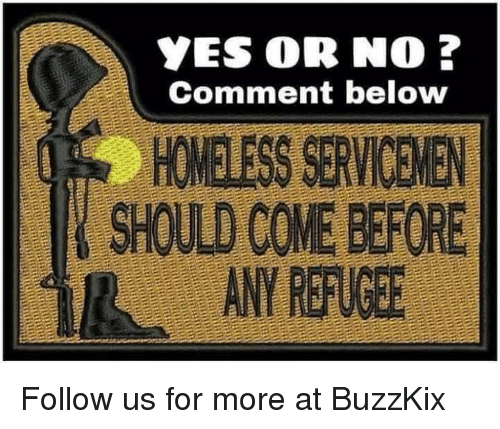 manna: YES OR NO ?  Comment below  HOMELESS SERVICE)EN  SHOULD COME BEFORE  ANY REFUGEE  Manna  impoveri Follow us for more at BuzzKix