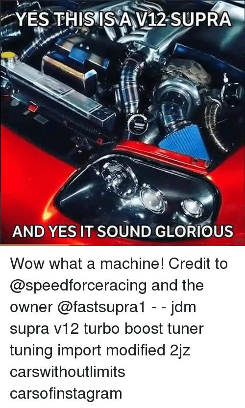 supra: YES THIS IS V12-SUPRA  AND YES IT SOUND GLORIOUS Wow what a machine! Credit to @speedforceracing and the owner @fastsupra1 - - jdm supra v12 turbo boost tuner tuning import modified 2jz carswithoutlimits carsofinstagram
