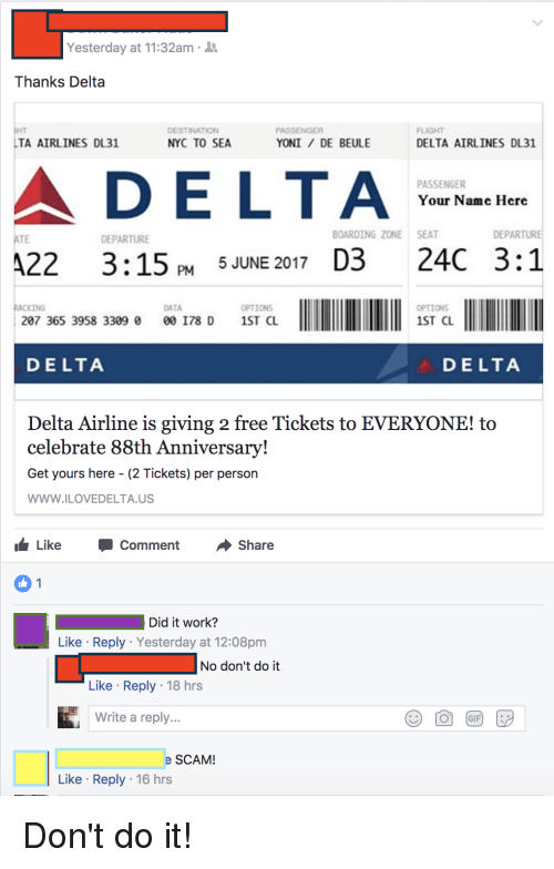 delta airlines 88th anniversary ticket giveaway