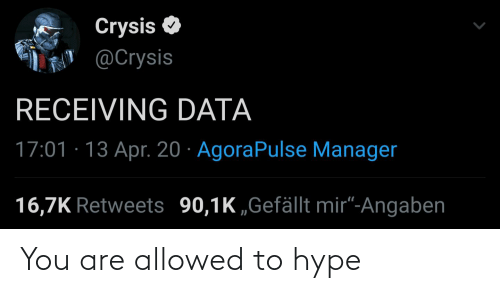 hype: You are allowed to hype