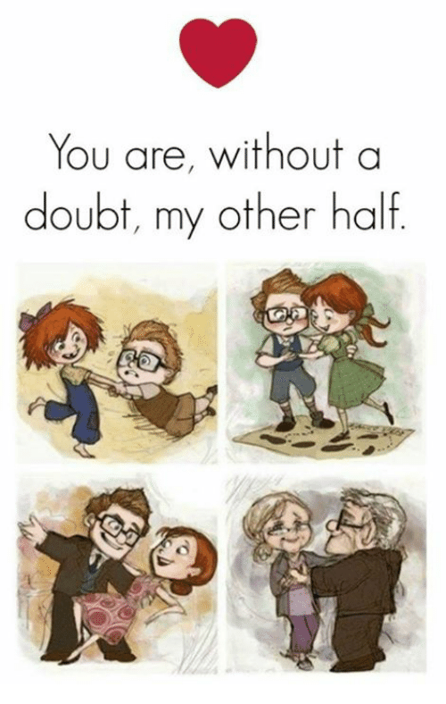 Memes, Doubt, and 🤖: You are, without a  doubt, my other half