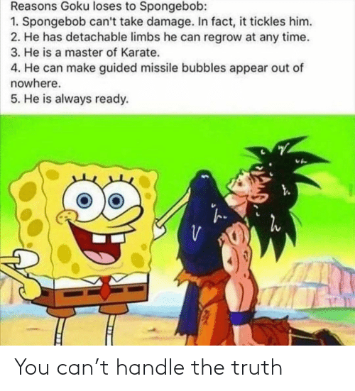 handle: You can't handle the truth
