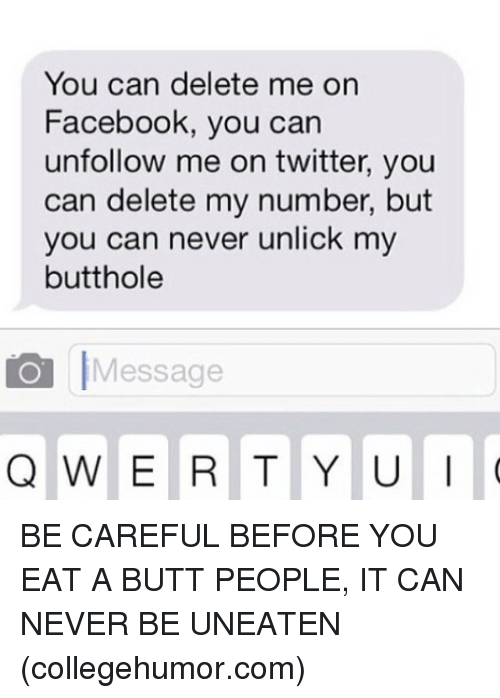 how to delete a message on facebook before opening it