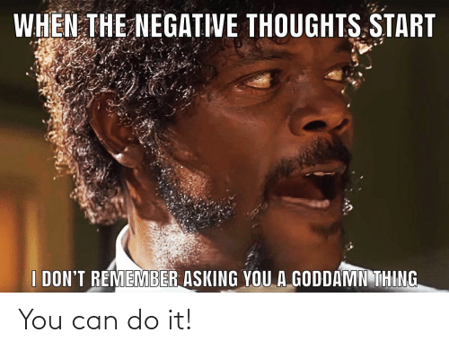 you can do it: You can do it!