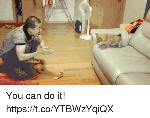 Can, You, and You Can Do It: You can do it! https://t.co/YTBWzYqiQX