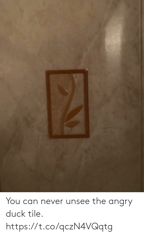 unsee: You can never unsee the angry duck tile. https://t.co/qczN4VQqtg