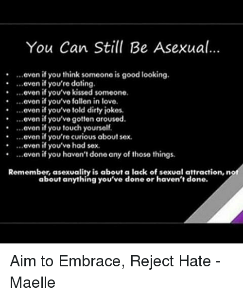 Tips for dating an asexual