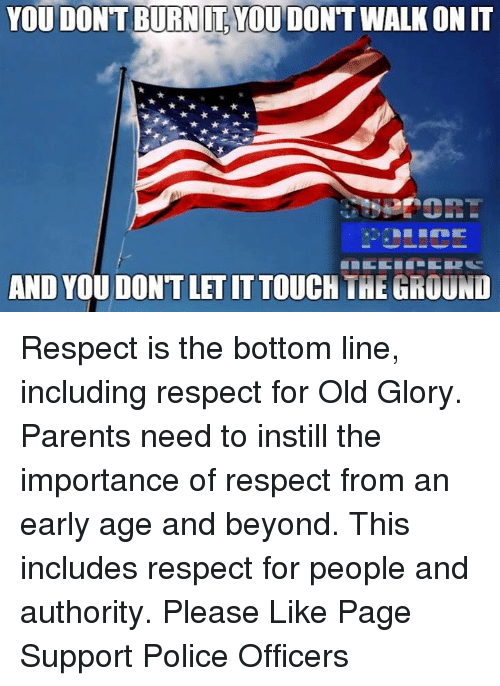importance of respecting authority