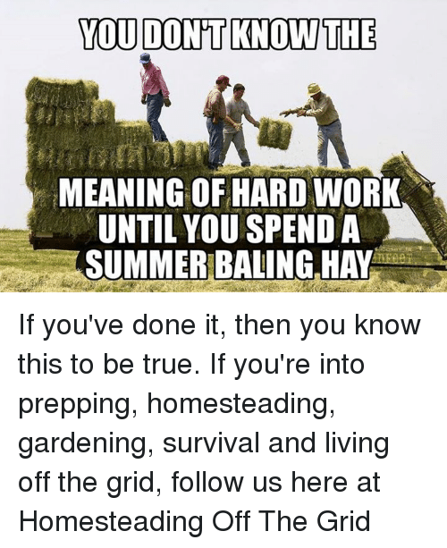 you don u0026 39 t knowthie meaning of hard work until you spenda