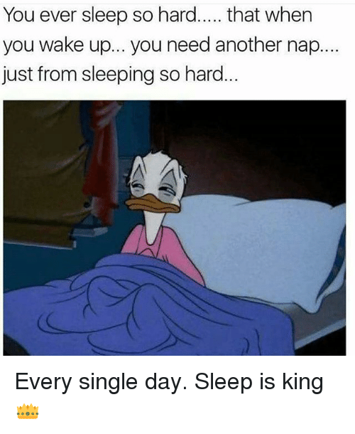 Gym, Sleeping, and Sleep: You ever sleep so hard..... that when  you wake up... you need another nap....  just from sleeping so hard Every single day. Sleep is king 👑