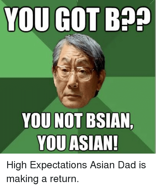 You know you re asian when