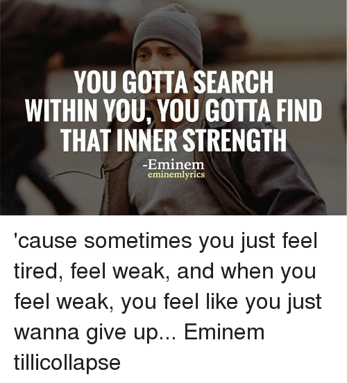 how to find inner strength