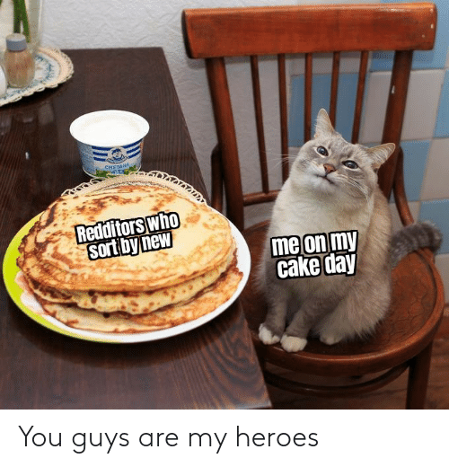 Guys Are: You guys are my heroes