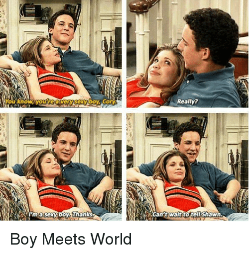 25 best memes about boy meets world and boys boy meets