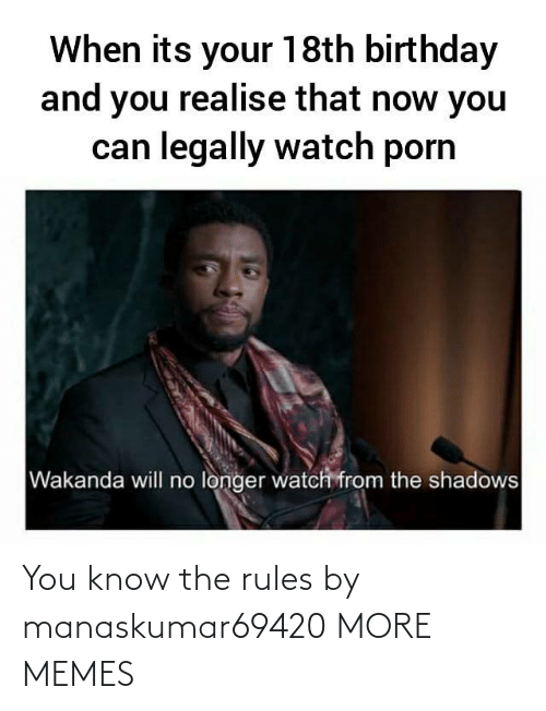 Rules: You know the rules by manaskumar69420 MORE MEMES