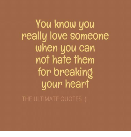 Quotes About Not Really Knowing Someone: 25+ Best Memes About Break Your Heart