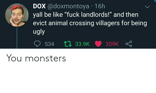monsters: You monsters