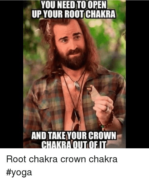 Yoga, Chakra, and Open: YOU NEED TO OPEN  UP YOUR ROOT CHAKRA  AND TAKE YOUR CROWN  CHAKRAOUTOFIT Root chakra crown chakra #yoga