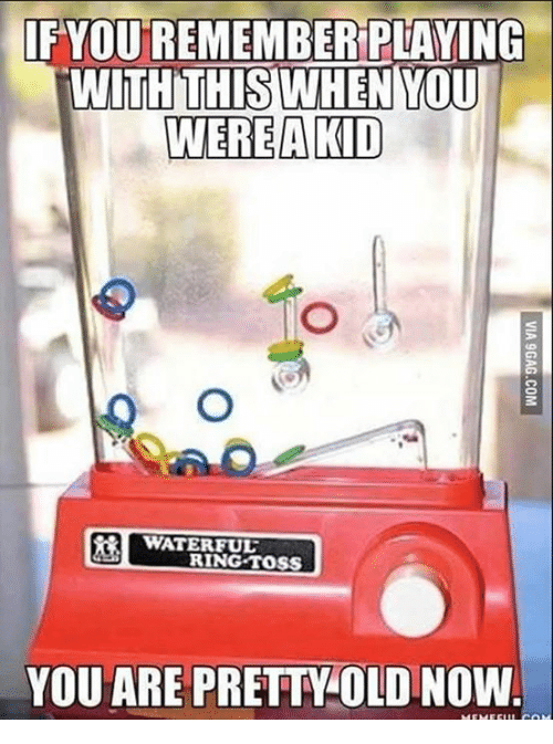ring toss: YOU REMEMBER PLAYING  WITH THIS WHEN YOU  WERE A KID  WATER FUL  RING TOSS  YOU ARE PRETTOLO NOW