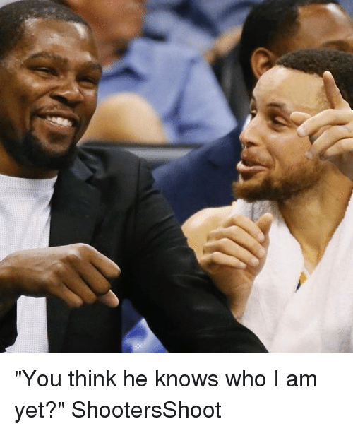 """Basketball, Golden State Warriors, and Sports: """"You think he knows who I am yet?"""" ShootersShoot"""