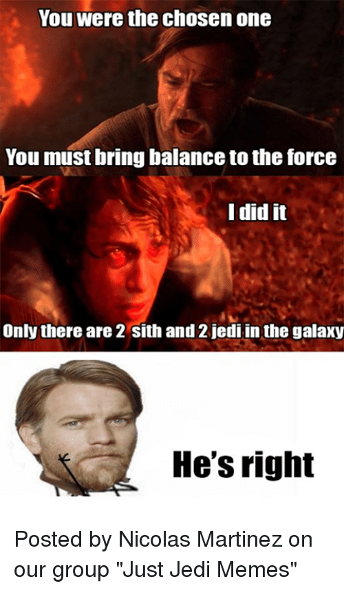 Balance To The Force