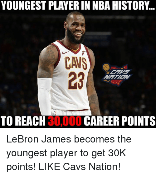 Cavs Youngest Player