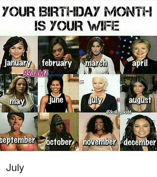 your birthday month is your wife january february march april 7899307 your birthday month is your wife january february march april ma
